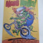 Moms Monster 12x18 Metal Sign
