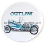 112 Ed Roth's Outlaw Button (2.25)