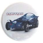 111 Ed Roth's Orbitron Button (2.25