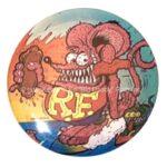 11 Rat Fink HOT DOG! Button (2.25