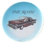 101 Roth's 57 Chevy Button (2.25
