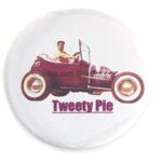 117 Ed Roth's Tweety Pie w/ Ed Button (2.25