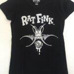 Girls Fitted Black/White Crying Eyeball T-Shirt
