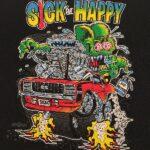 Sick But Happy Kid's T-Shirt (Black)