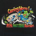 14th Annual Rat Fink Reunion 2016 Kids T-Shirt
