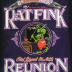 15th Annual Rat Fink Reunion 2017 Ladies Fitted T-Shirt