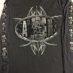 Long Sleeve Belt Buckle Front Design