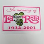 In Memory EBDR Decal (Pink)