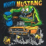 Mighty Mustang T-Shirt (Black)