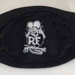 Rat Fink Face Mask (Plain)