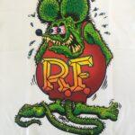 Rat Fink #12 Full Color on Front Kids T-Shirt