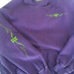 Rat Fink RF Kid's Pullover (Purple)
