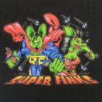 Super Finks Ladies T-Shirt (Black)