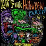 Kids Rat Fink Halloween Party Fink or Treat T-Shirt