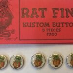Rat Fink Button 5 piece set