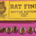 Rat Fink Button 7 piece set