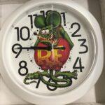 Rat Fink Clock-Full Color Rat Fink