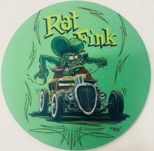 Green 2015 Hot Rod Mouse Pad