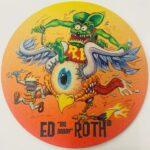 Rat Fink & Flying Eyeball Mouse Pad